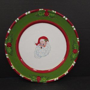 Christopher Radko Letters To Santa Face Plate